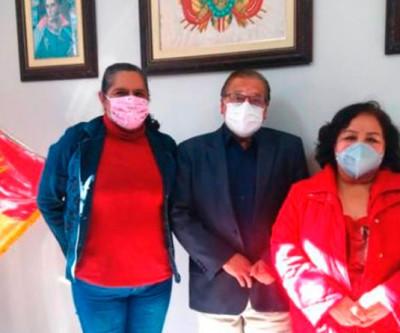 Representantes da ADRB em visita formal ao Consulado Geral da Bolívia em São Paulo