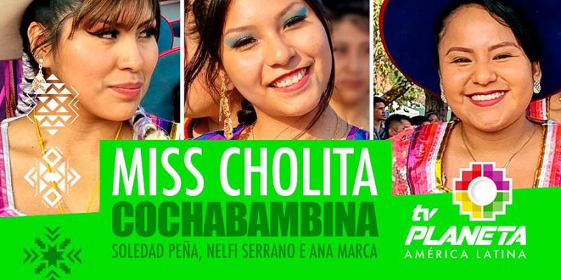 Eleição Miss Cholita Cochabambina 2021 na Praça Kantuta em SP.