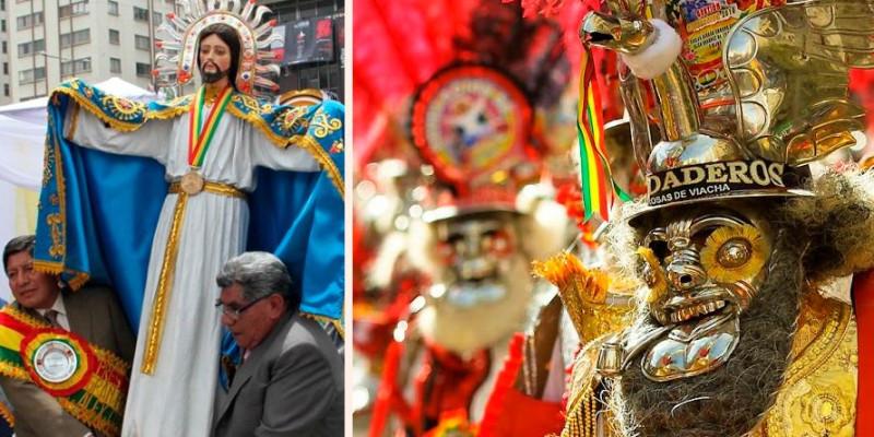 Suspendida a Entrada del Gran Poder 2021 em La Paz na Bolívia