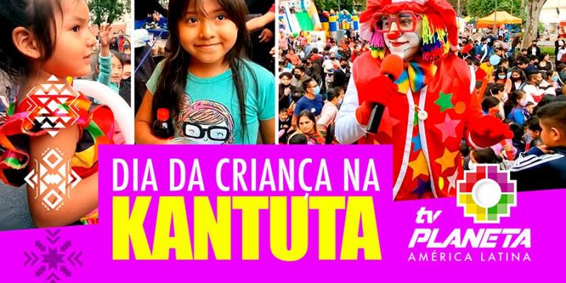 Dia das Crianças 2021 na Feria Kantuta em São Paulo