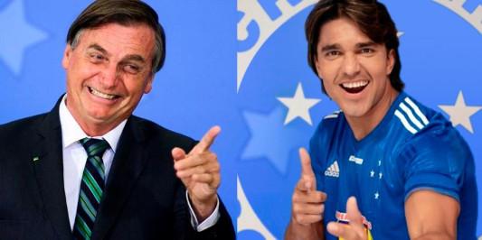 Jair Bolsonaro envia mensagem ao matador Marcelo Moreno do Cruzeiro