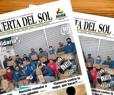 La Puerta Del Sol  - Edição nº 88 do Jornal boliviano em SP