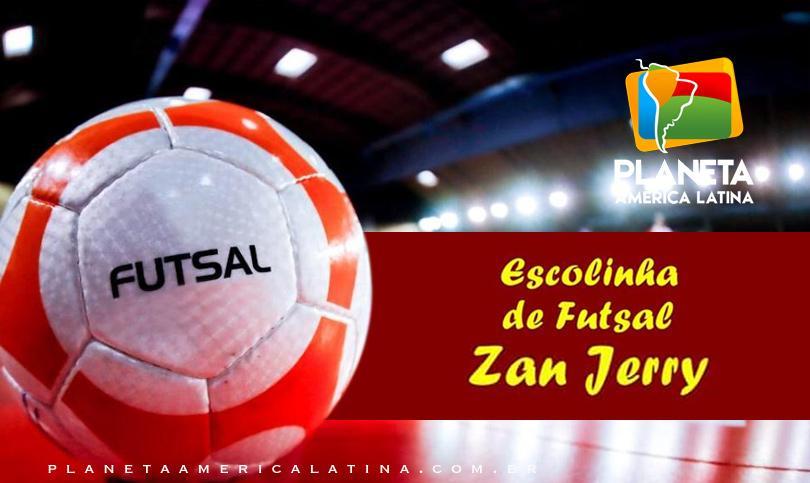 Escolinha de Futsal Zan Jerry, abre isncrições para a gestão 2019