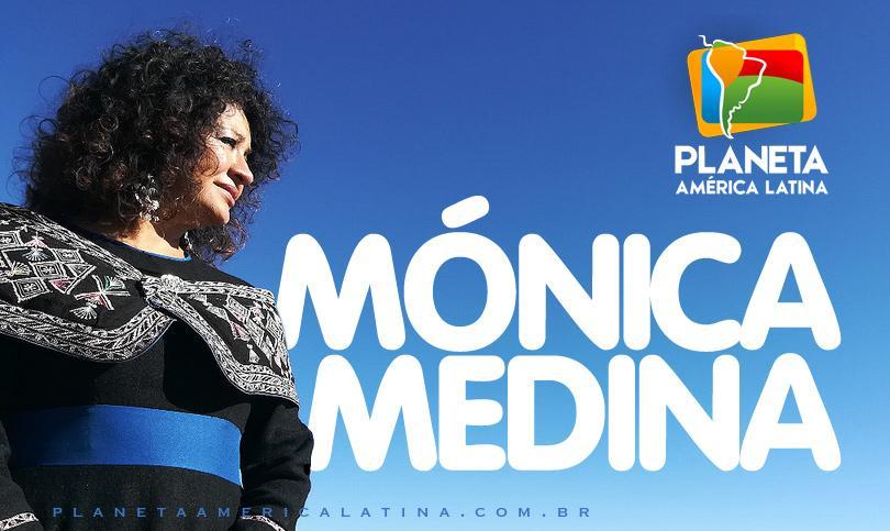 Mónica Medina, a comadre boliviana