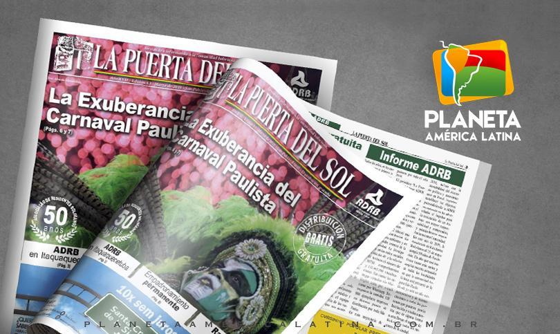 Edição nº 63 do Jornal boliviano - La Puerta Del Sol