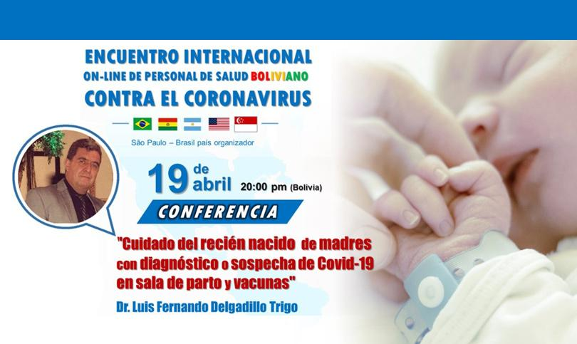 Encontro internacional on-line de profissionais de saúde contra o coronavírus, 19/04