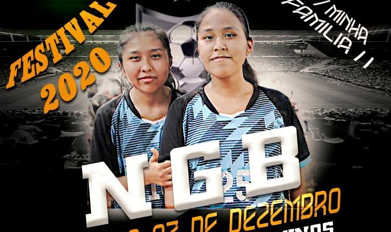 Festival desportivo feminino - Minha Família N.G.B. 2020