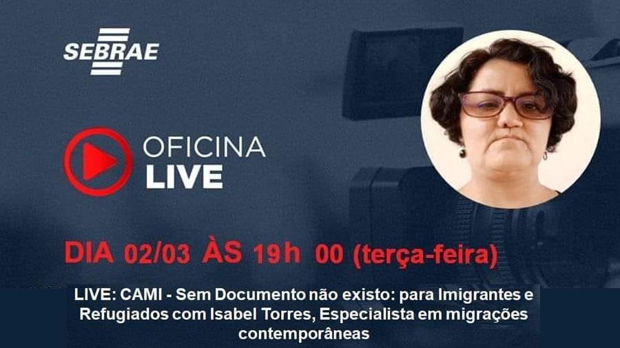 LIVE: CAMI - Sem Documento não existo
