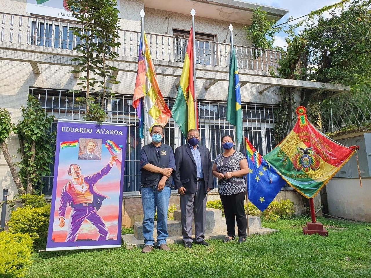 Consulado boliviano ratifica o direito inalienável de retornar ao mar boliviano com soberania.