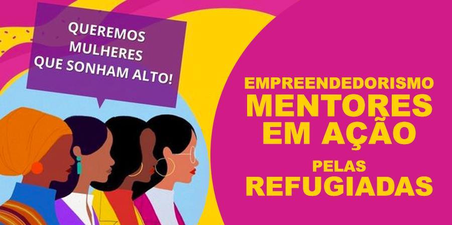 Programa de empreendedorismo direcionado para mulheres imigrantes e refugiadas