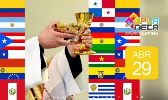 Missa latina em espanhol, em São Paulo