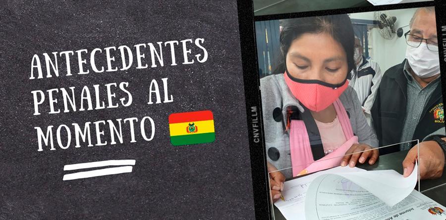 Maria a primeira beneficiada do convênio entre a Chancelaria e Conselho da Magistrartura da Bolívia
