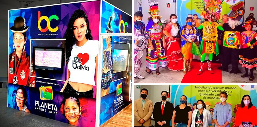 CAMI participou da inauguração do 1º Cubo Cultural